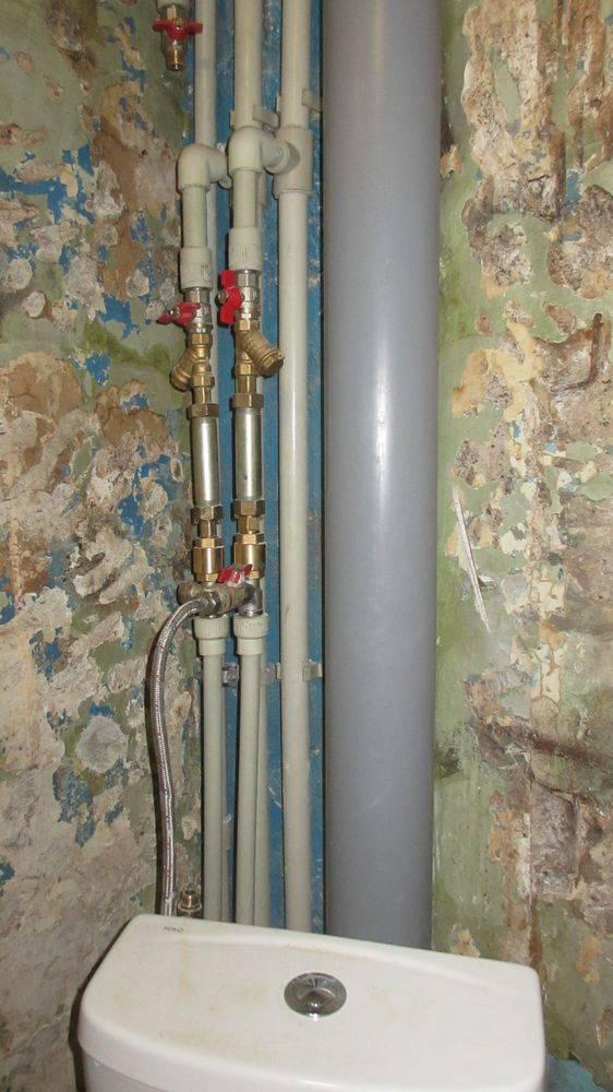 Как производится замена стояков водоснабжения в квартире: пошаговое руководство