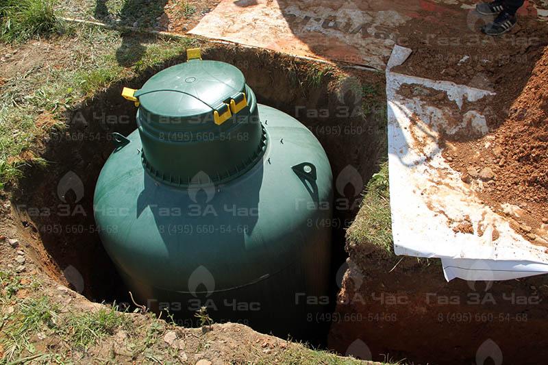 Правила и нормы установки газгольдеров