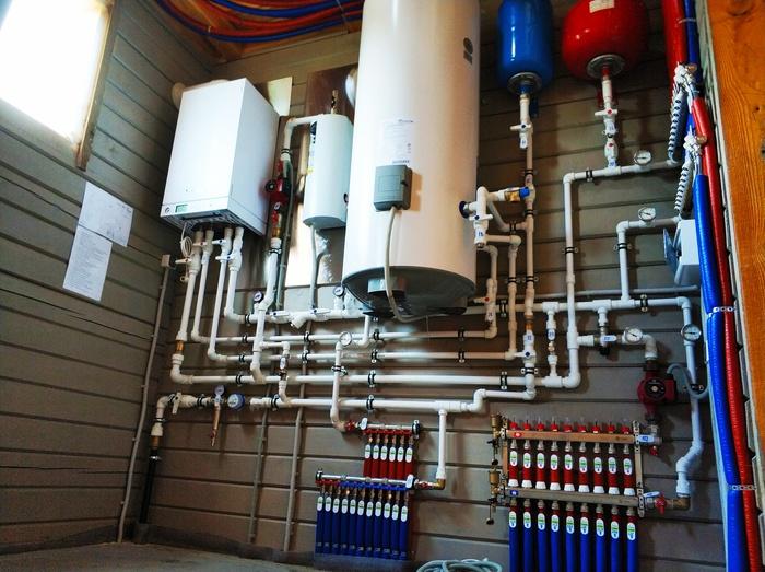 Инженерные коммуникации в загородном частном доме под ключ: монтаж, цены в москве