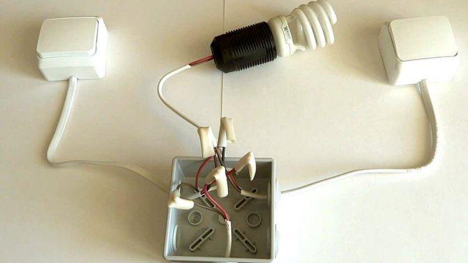 Мигает лампочка при выключенном свете – почему мигает лампочка и что делать