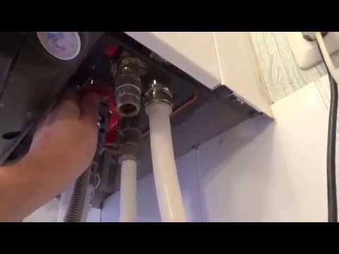 Как слить воду с котла