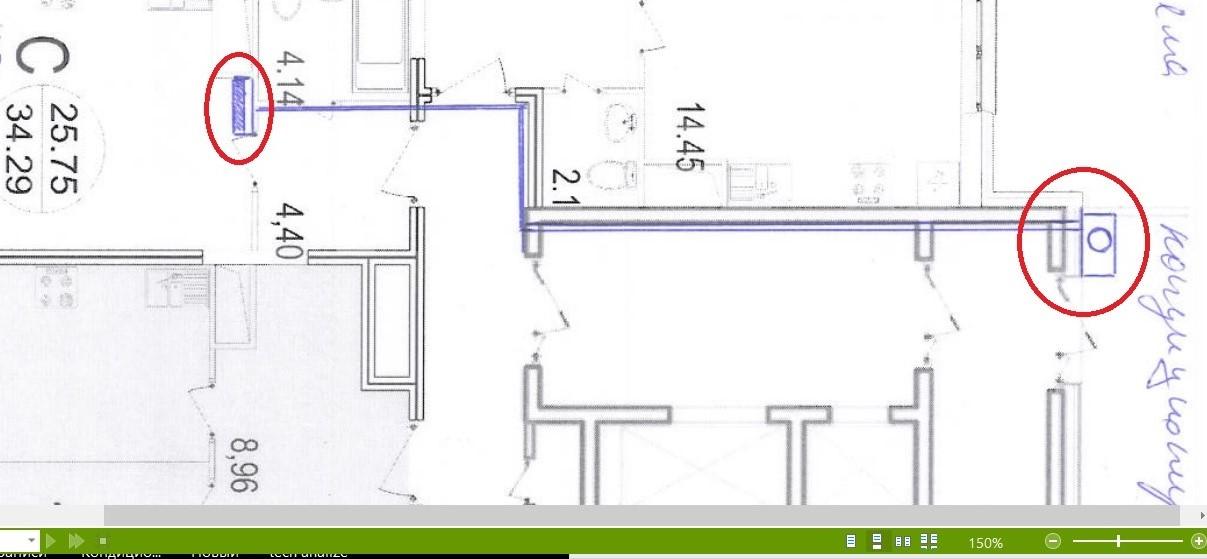 Прокладка трассы для кондиционера: размер штробы, максимальная длина, залом и стоимость