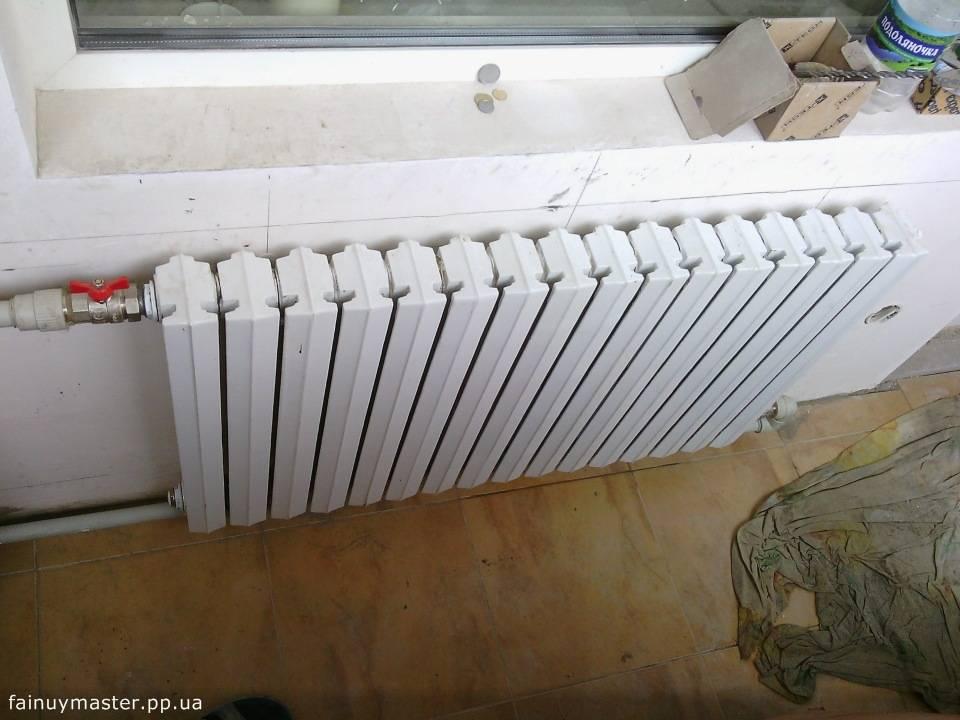 Разметка и установка радиаторов отопления своими силами