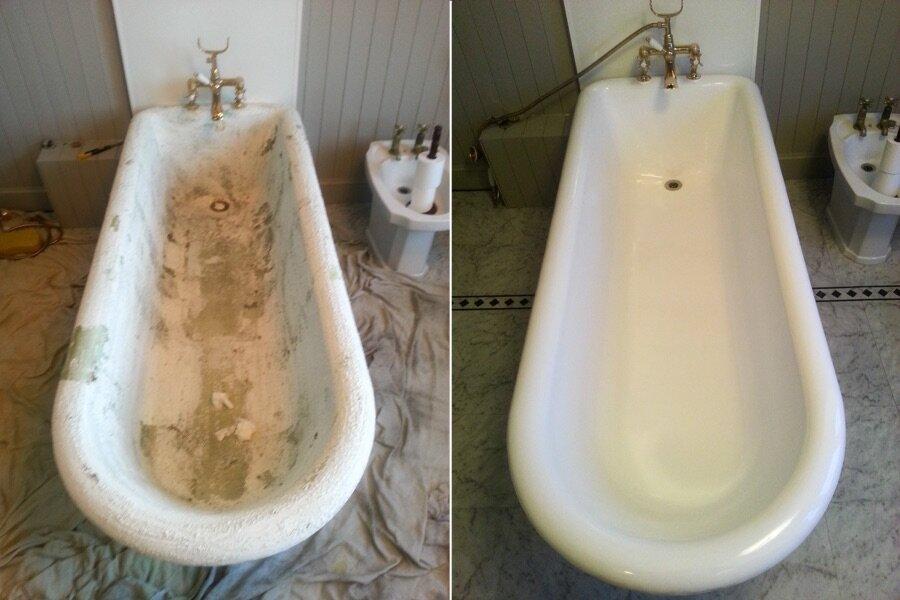 Как восстановить эмаль ваннысвоими руками