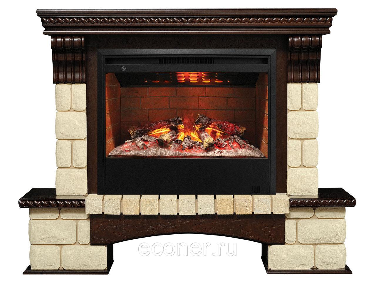 Электрические камины с эффектом живого пламени в интерьере