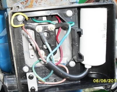 Проблема с подключением проводов к двигателю