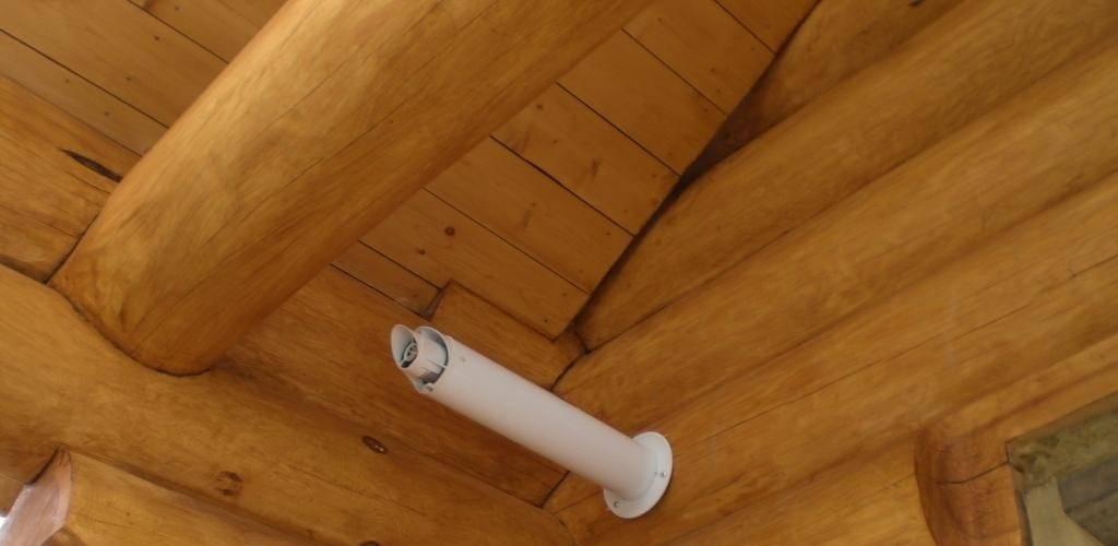 Вентиляция в деревянном доме – выберите эффективную систему + видео