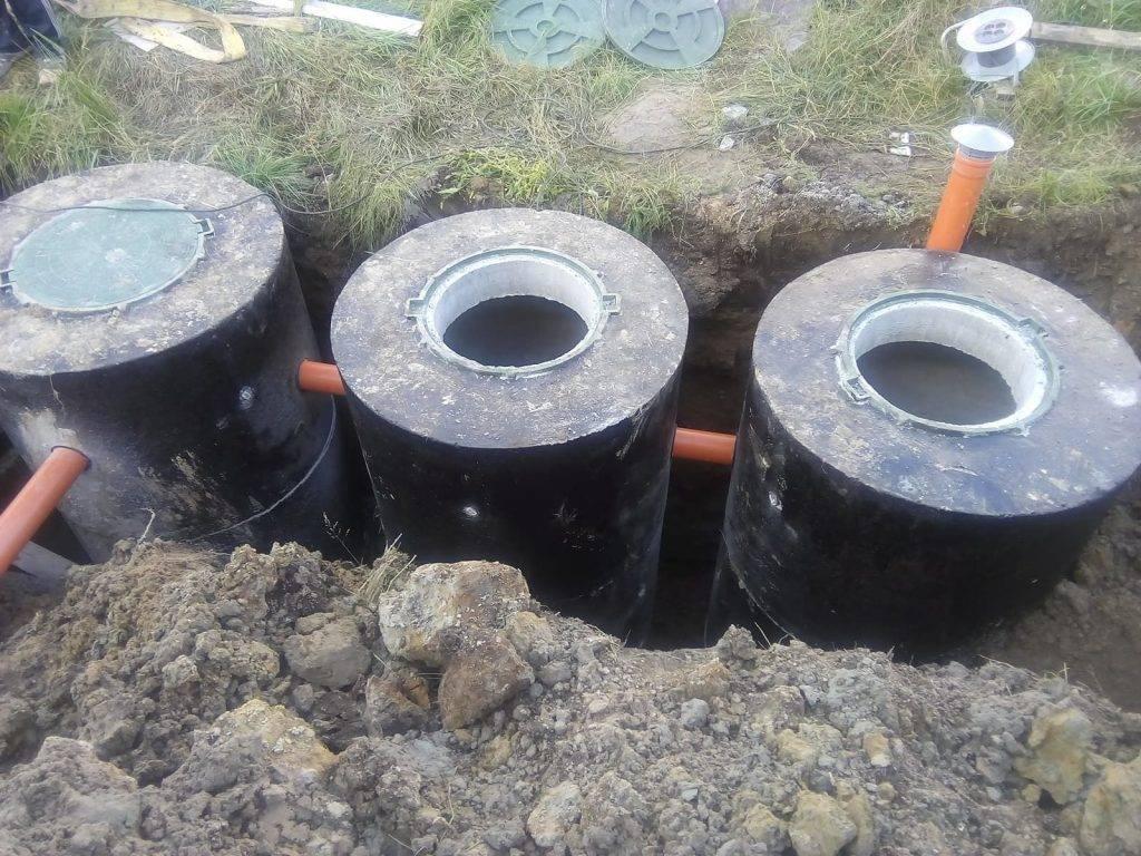 Гидроизоляция септика из бетонных колец: обзор материалов + правила выполнения