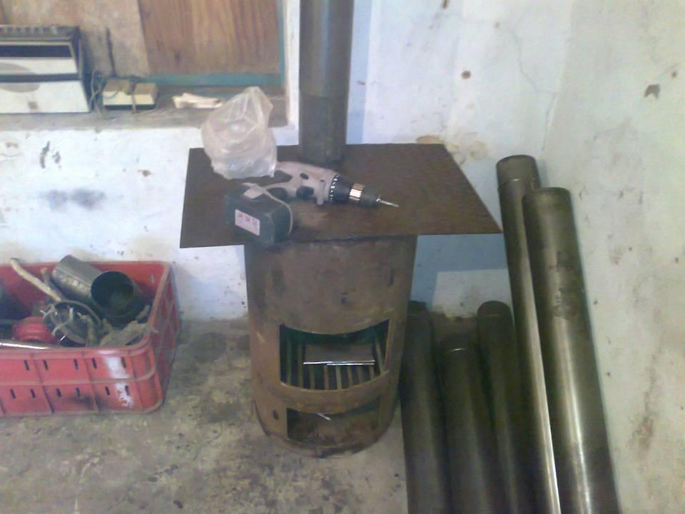 Печь для гаража своими руками - особенности, основные требования, виды и материалы для изготовления. 100 фото печей из трубы, колесных дисков