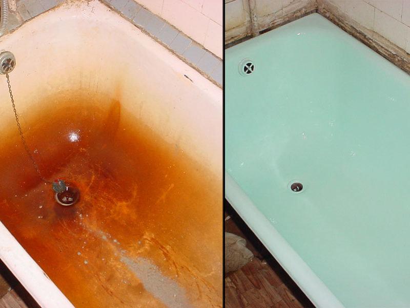 Реставрация ванны. способы и технология восстановления разных видов ванн