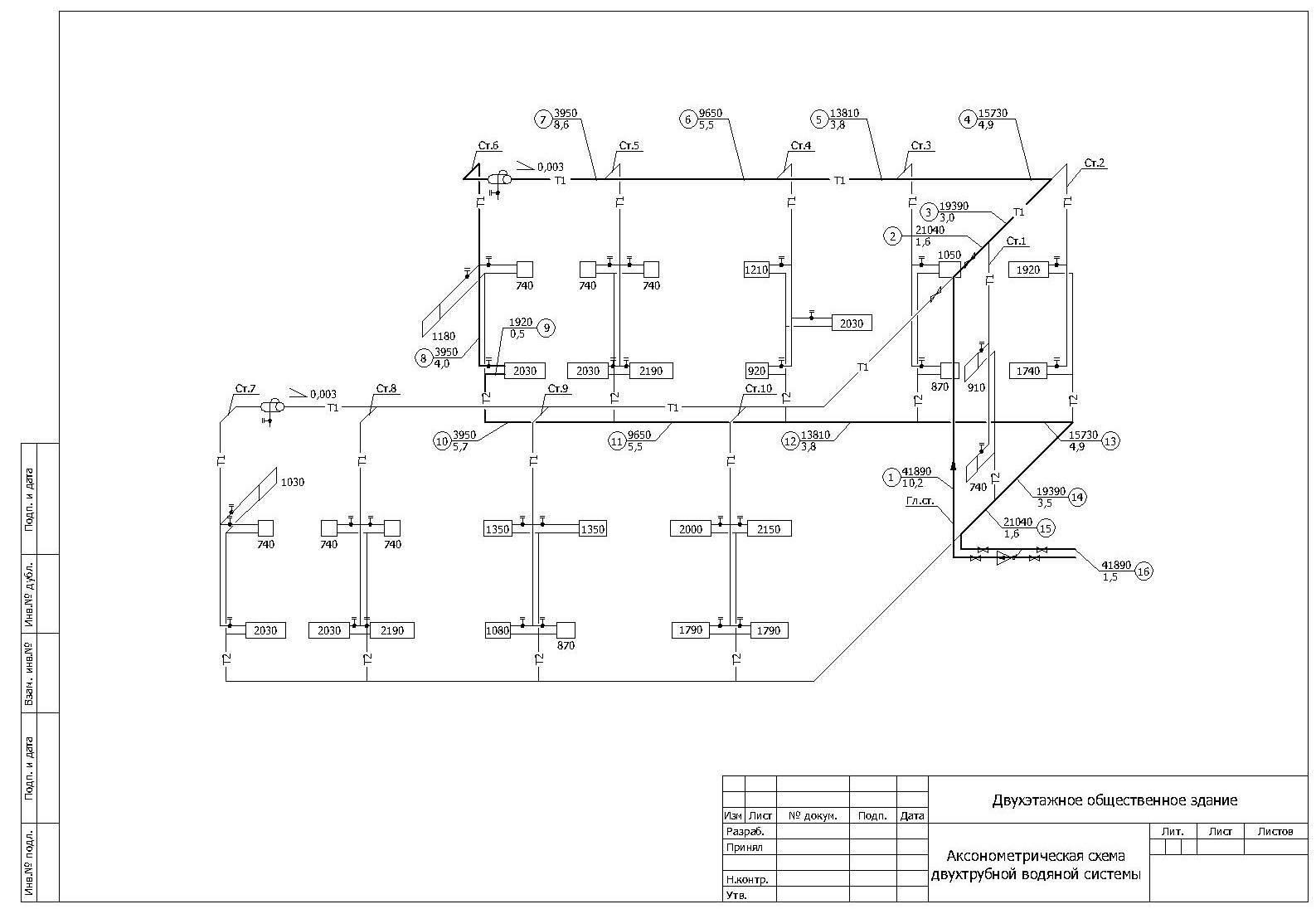 Гидравлический расчет отопления с учетом трубопровода