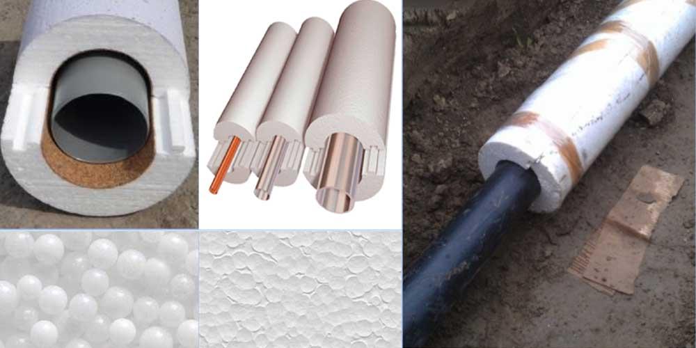 Виды утеплителей для труб отопления