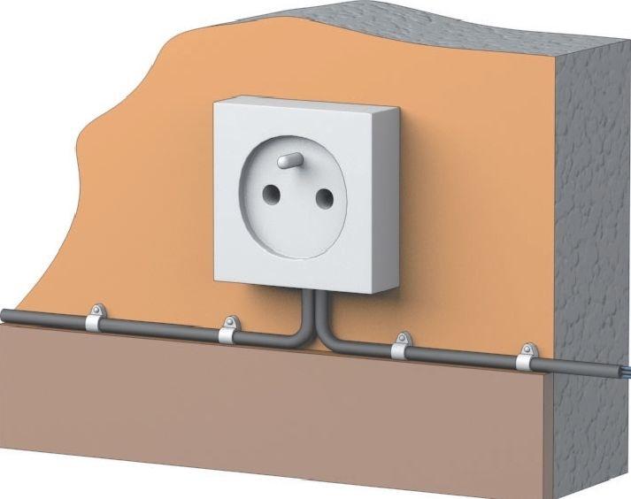 Монтаж закрытой электропроводки в квартире своими руками