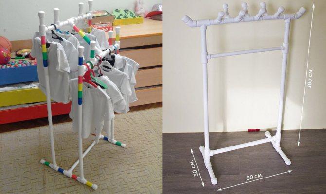 Мебель из пластиковых труб: что можно сделать из труб пвх, самоделки своими руками, вешалка из полипропиленовых труб, стул, поделки и конструкции из пп