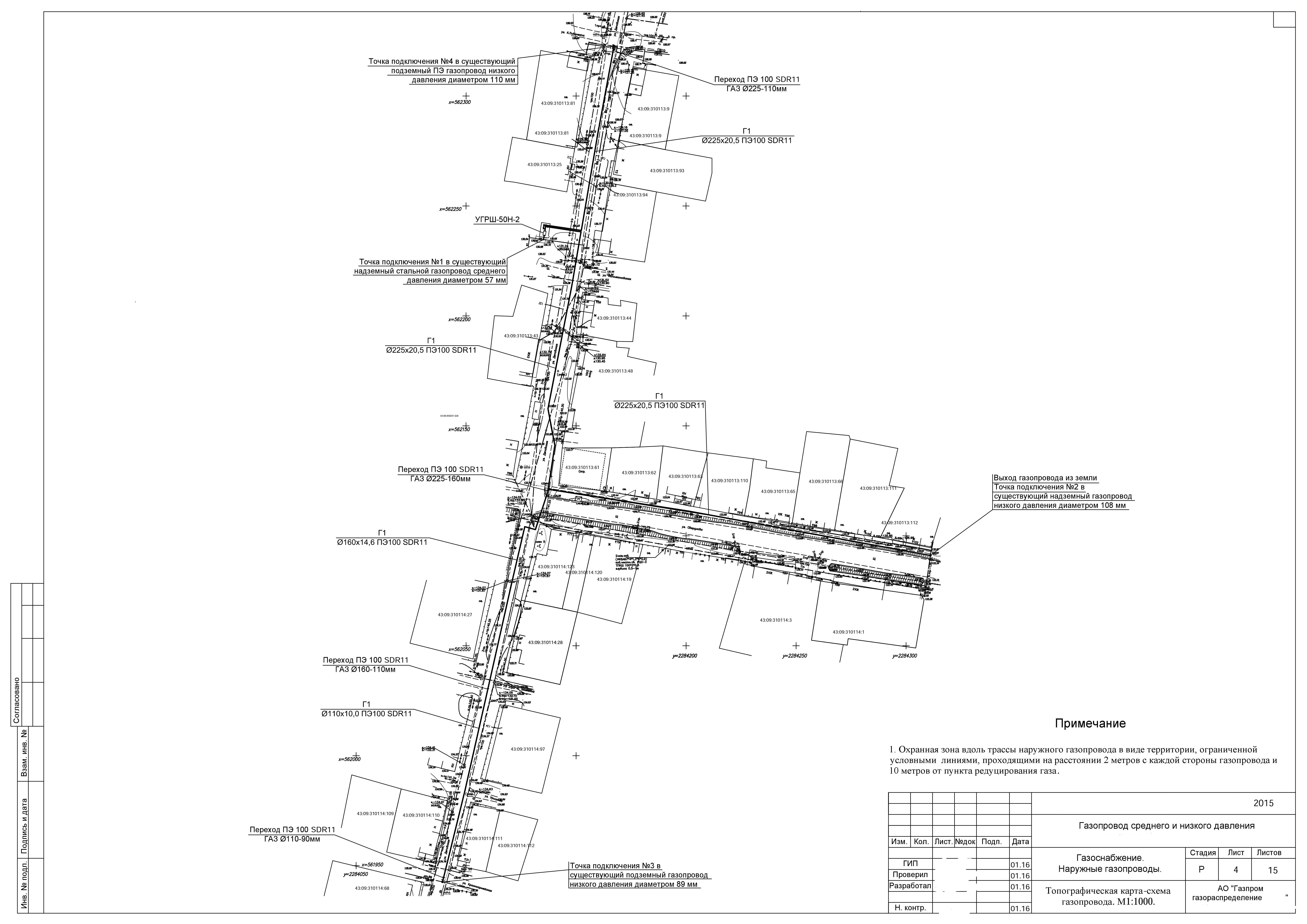 Линейная часть магистральных газопроводов