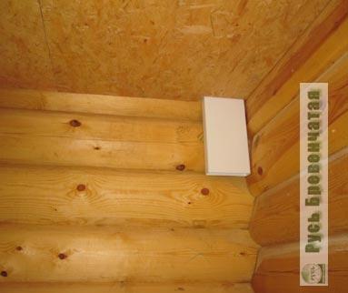 Вентиляция в деревянном доме: правила обеспечения сруба системой воздухообмена