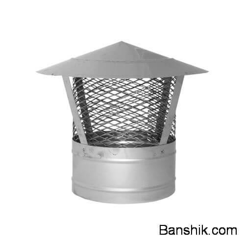 Искрогаситель на трубу бани
