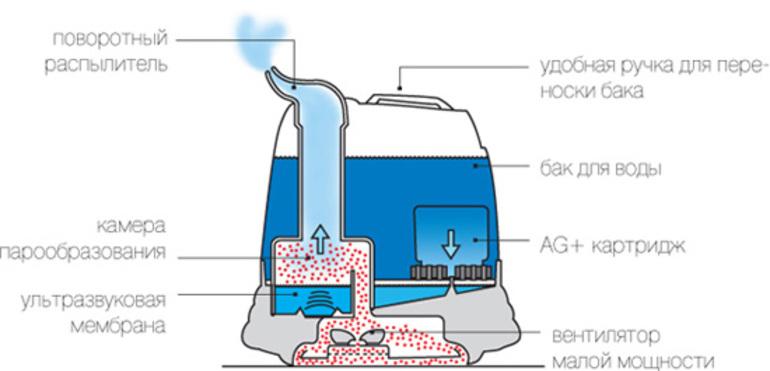 Какую воду заливать в увлажнитель воздуха ультразвуковой, паровой, холодного типа