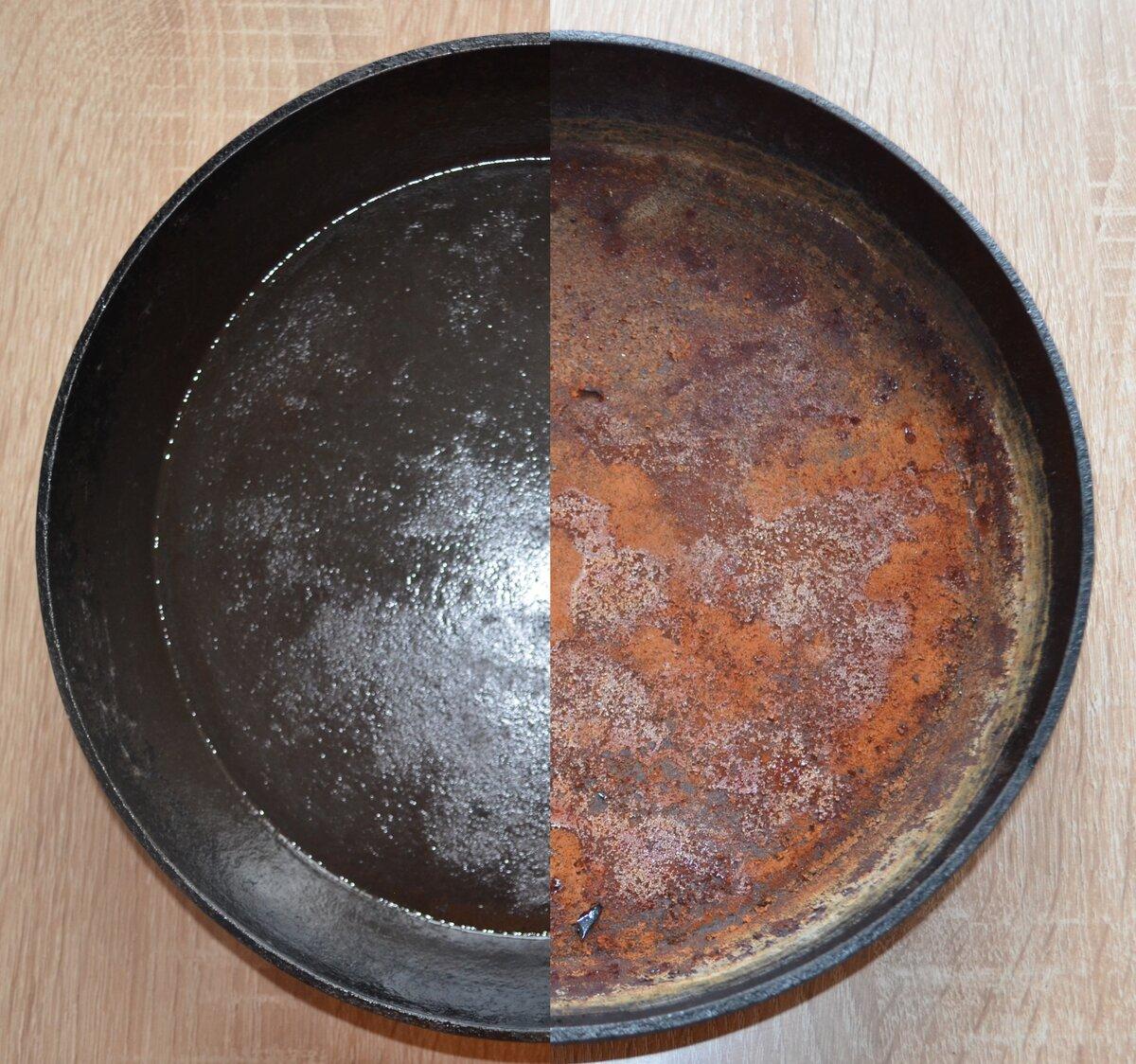 Как очистить сковородку от нагара снаружи: лучшие методы