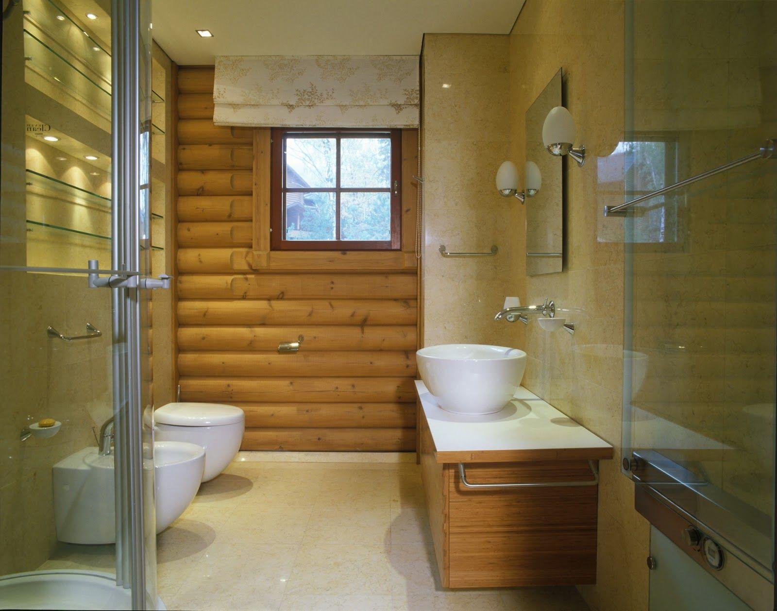 Ванная комната в деревянном доме: правила обустройства и особенности отделки