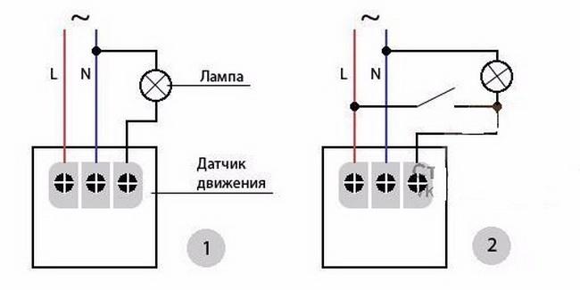 Схема подключения датчика движения для освещения: разбор и инструкция по установке
