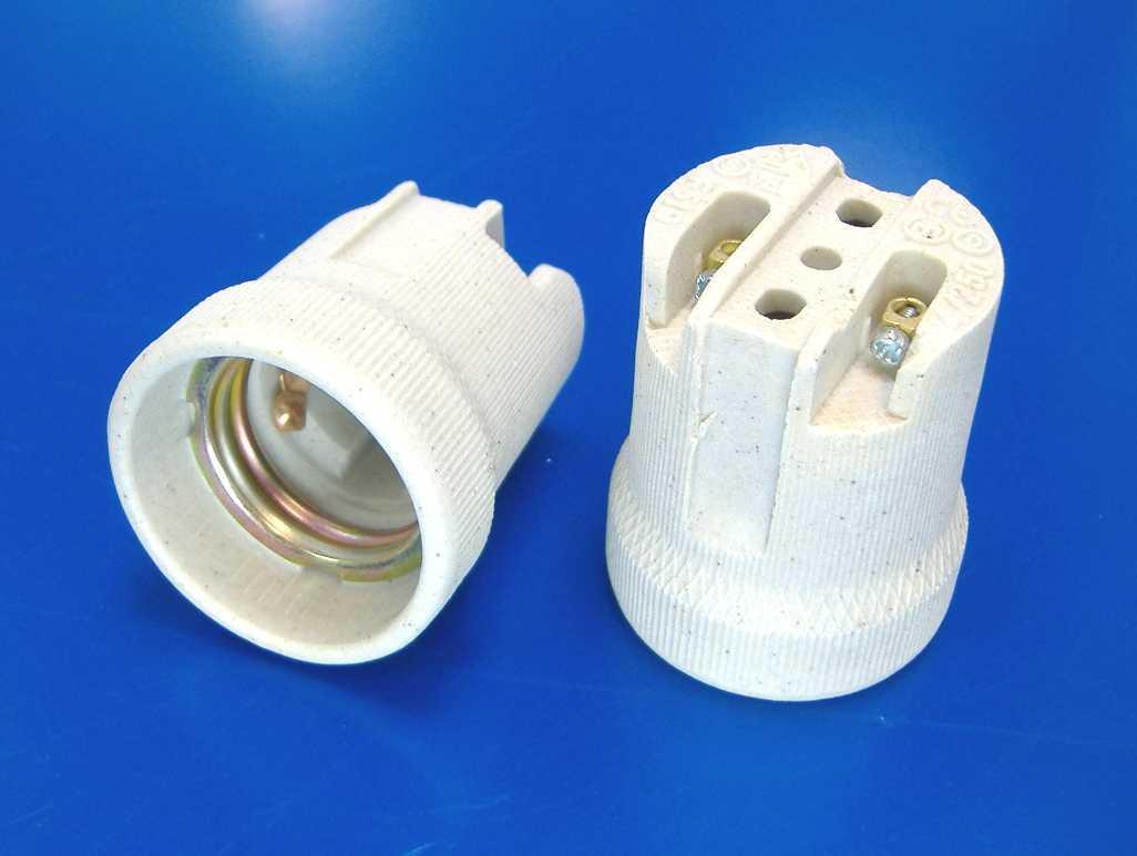 Патроны для лампочек и их виды: строение патрона