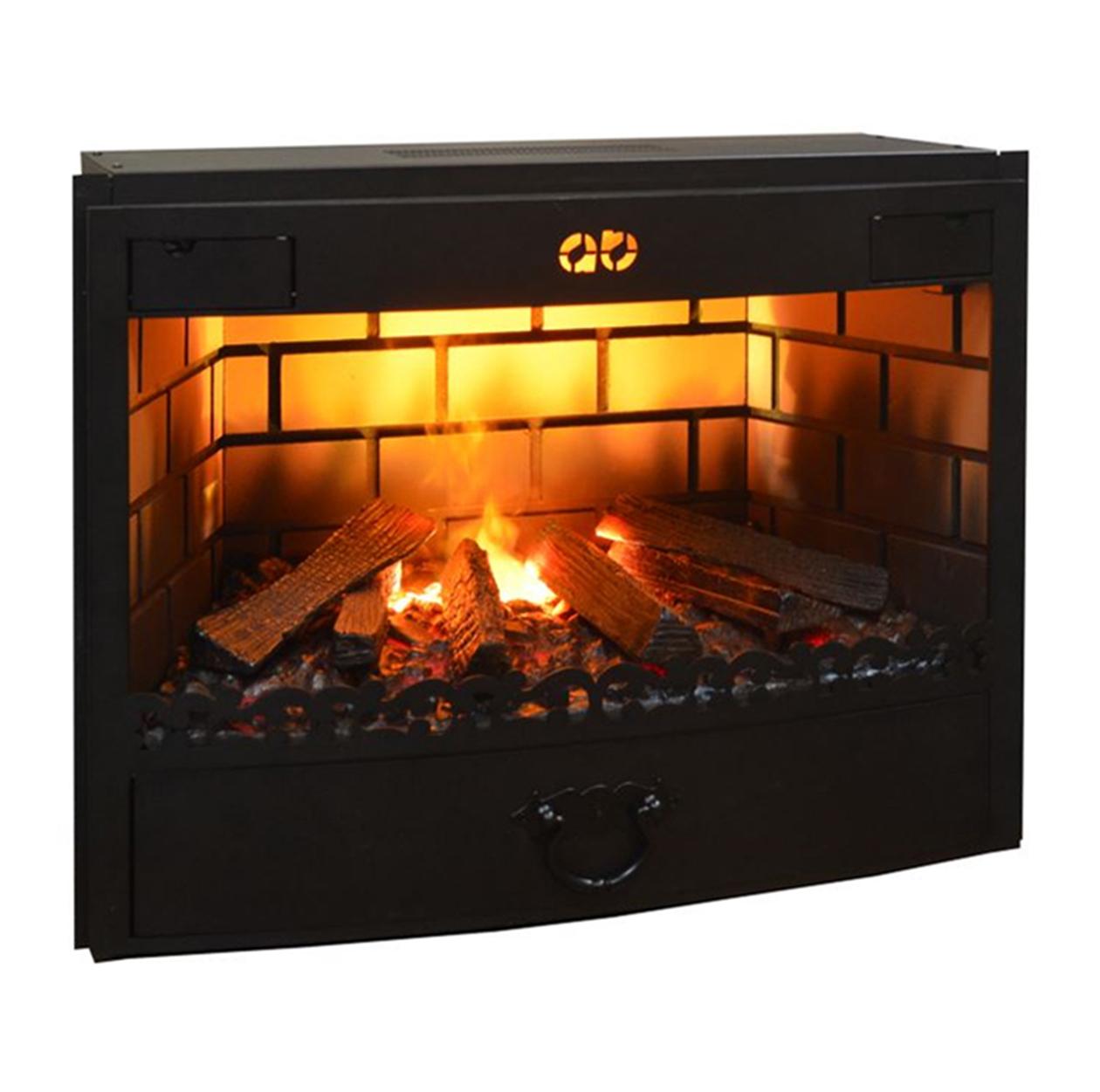 Электрический камин с эффектом живого пламени: современный очаг с имитацией огня, устройство, рейтинг лучших, фото