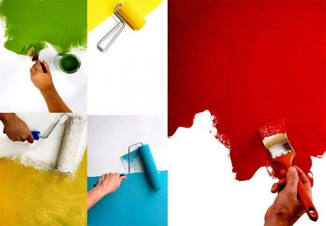 Как покрасить мебель своими руками: как и какой краской красить