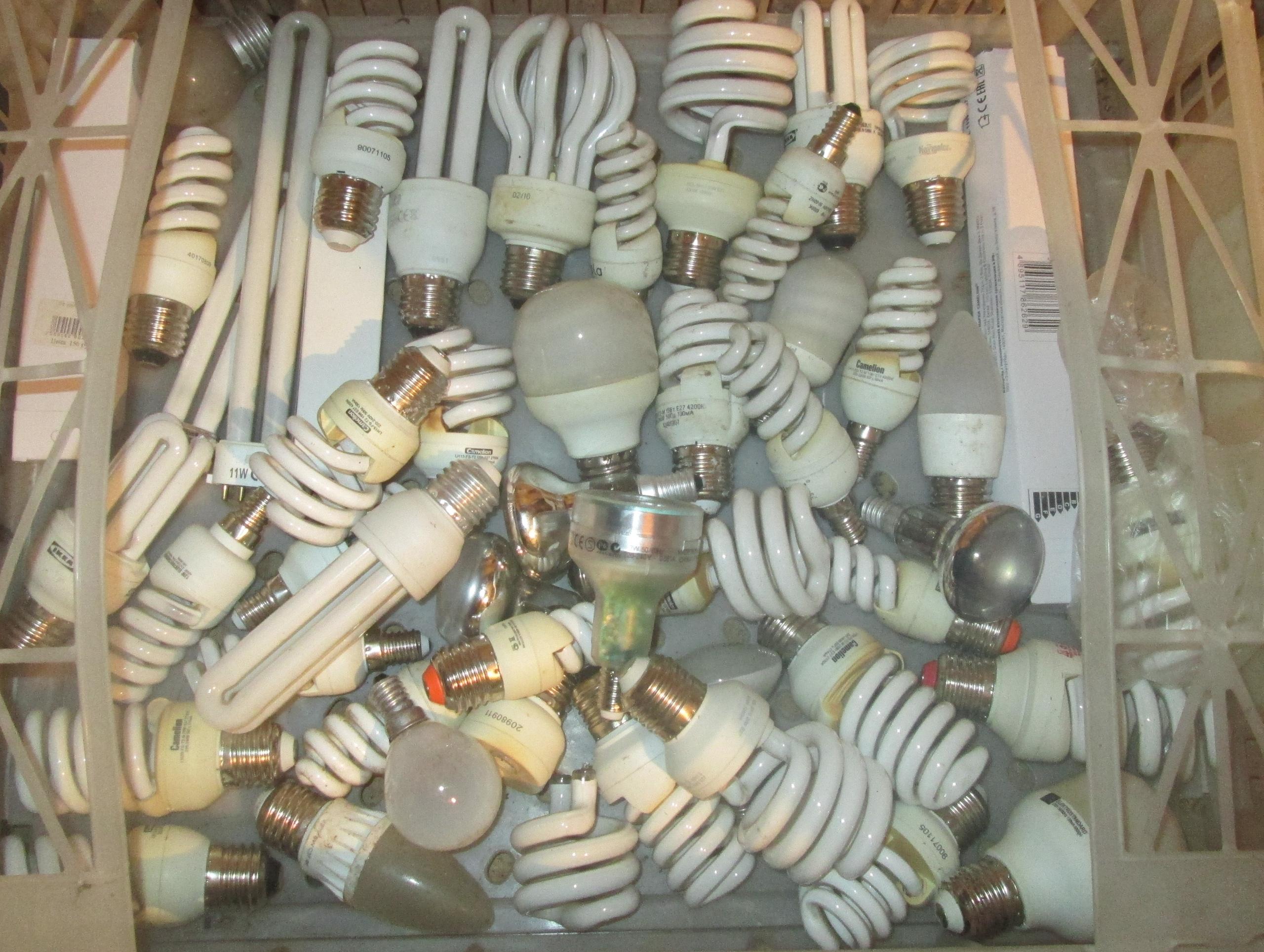Утилизация люминесцентных ламп: куда следует сдавать отработавшие приборы