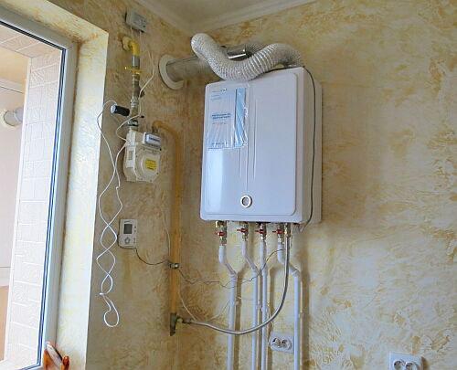 Установка газового котла своими руками: правила монтажа, схема (видео) | тепломонстр