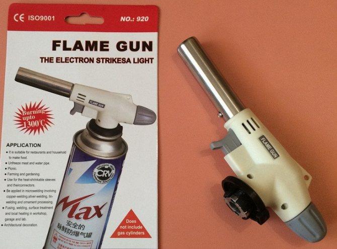 Газовая горелка для пайки медных труб: основные типы горелок + советы потенциальным покупателям