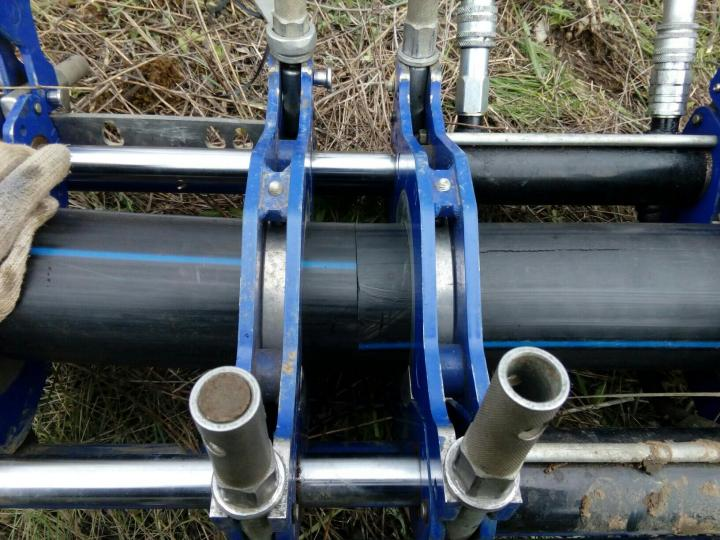 Сварка полиэтиленовых труб большого диаметра