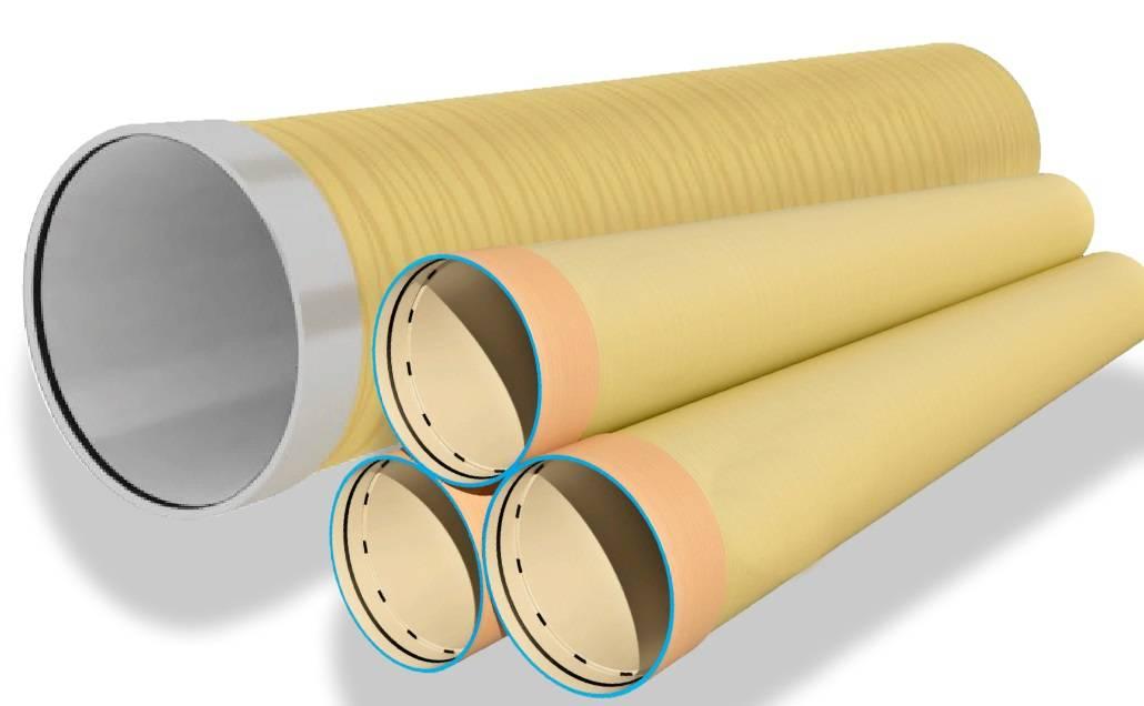 Стеклопластиковые и композитные трубы для водопровода и отопления