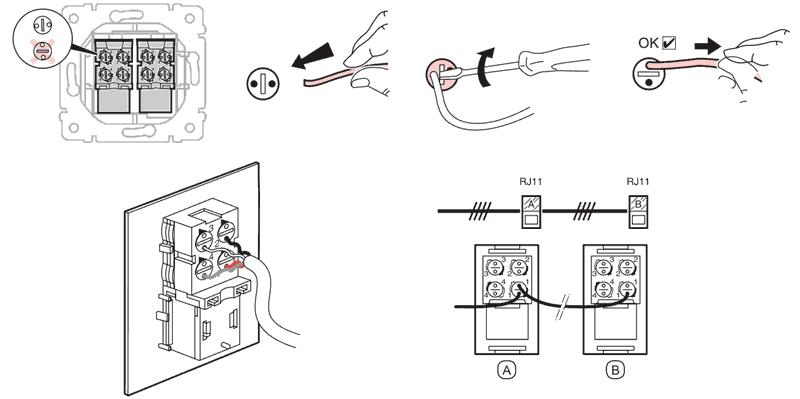 Как подключить интернет розетку: варианты и схемы подключения | твой сетевичок