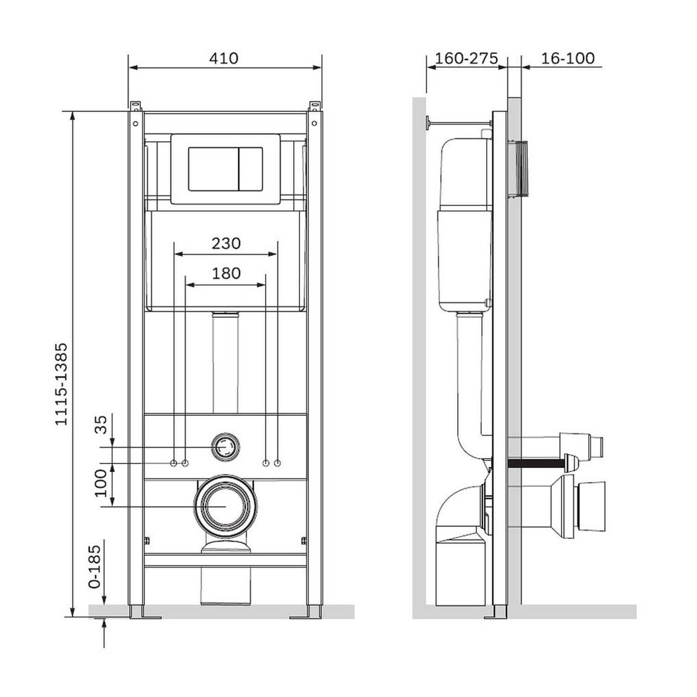 Выбираем унитаз с подвесной системой инсталяции: отзывы и нюансы