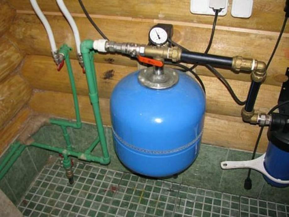 Схема подключения гидроаккумулятора к насосу и системе водоснабжения - устанавливаем своими руками