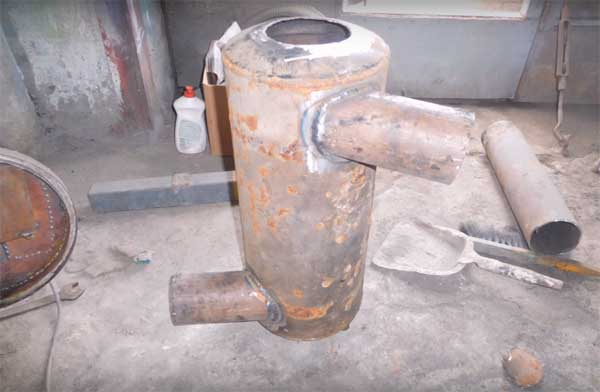 Теплообменник на трубу дымохода своими руками: инструкция
