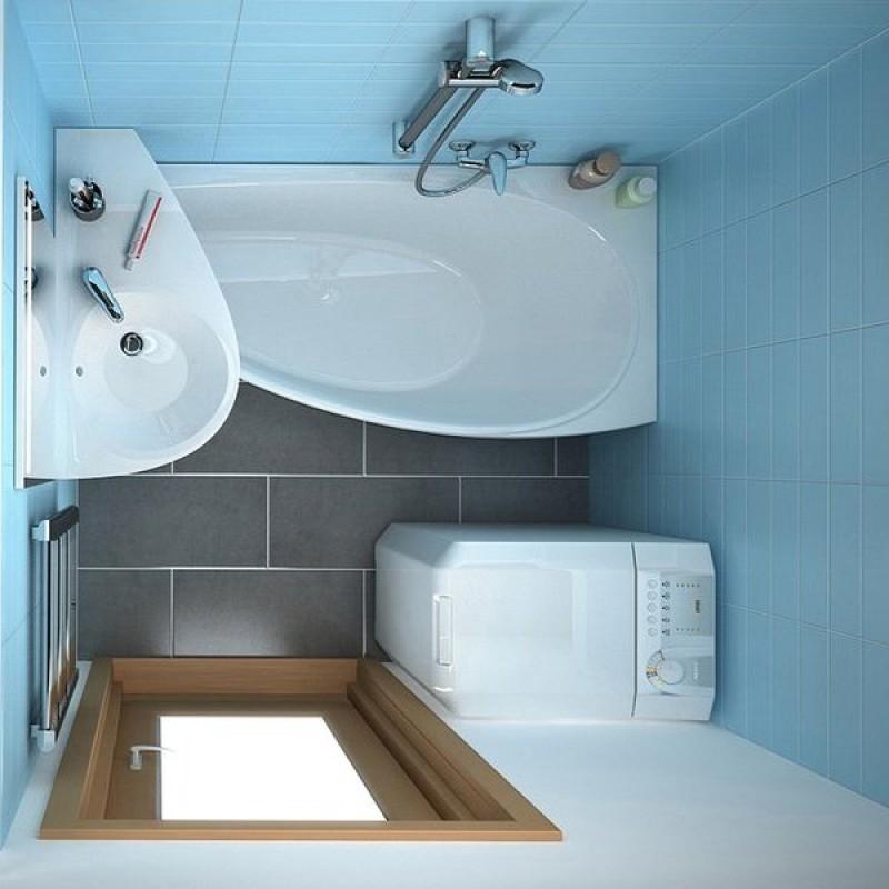 Маленькие ванны — виды и размеры (фото, видео)