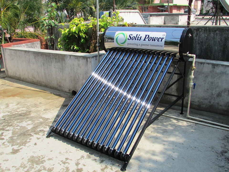 Воздушный солнечный отопительный коллектор
