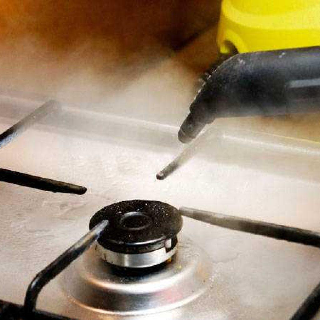 Средства для быстрой и эффективной очистки газовой плиты