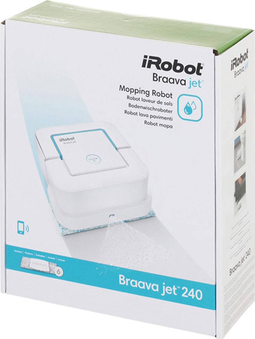 Irobot braava jet m6: полотер для работы в тандеме с роботом-пылесосом