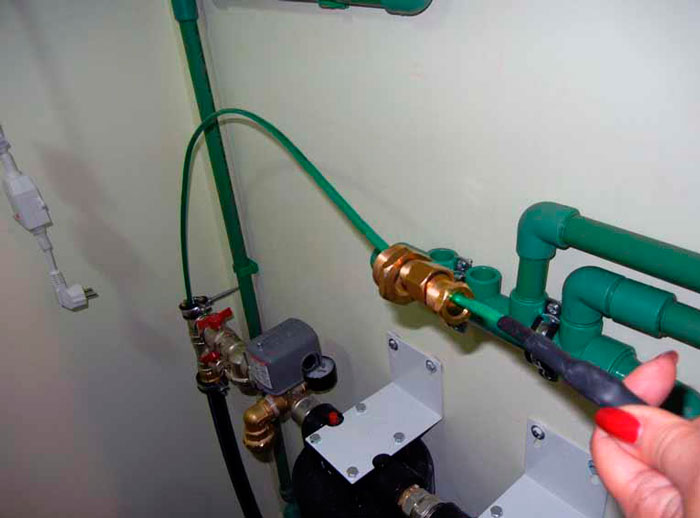 Греющий кабель внутри трубы: виды, самогреющийся для водопровода с питьевой водой для внутреннего обогрева водопроводных труб