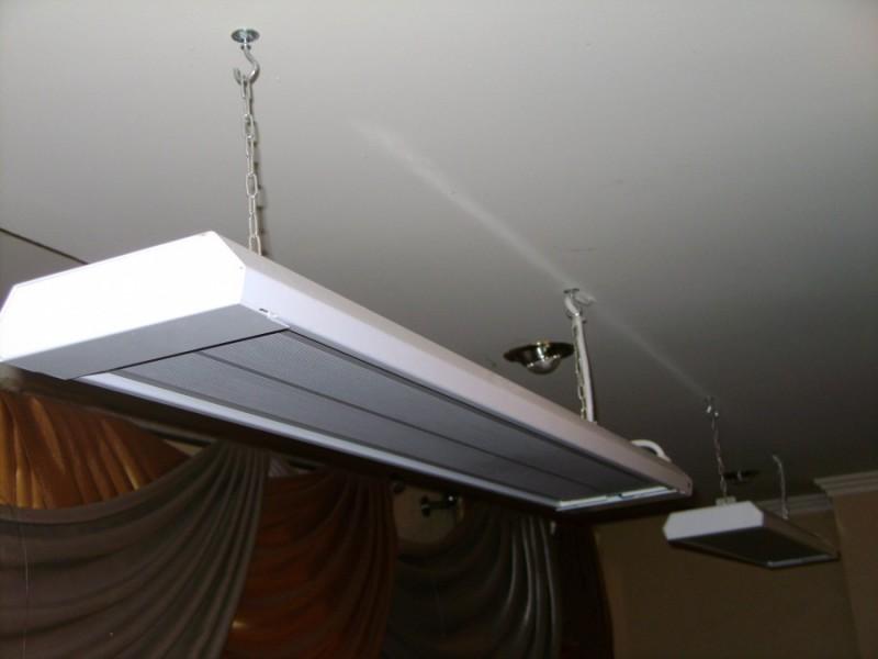 Инфракрасные потолочные обогреватели - как выбрать