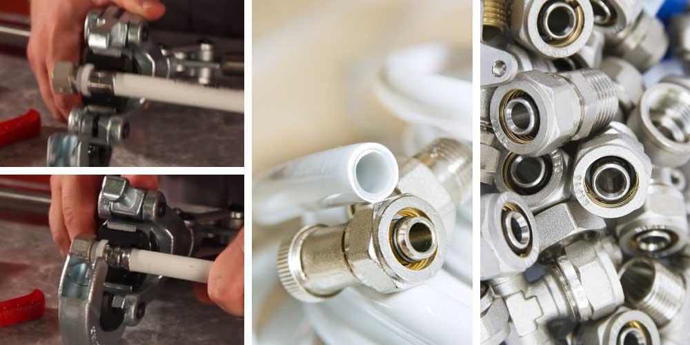 Технология монтажа металлопластиковых труб