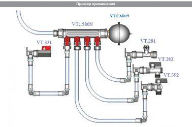 Гидроудар в системе отопления, предупреждение и ремонт течи