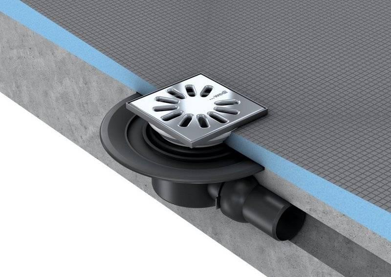 Слив для душевой кабины – устройство и монтаж системы слива (видео инструкция)