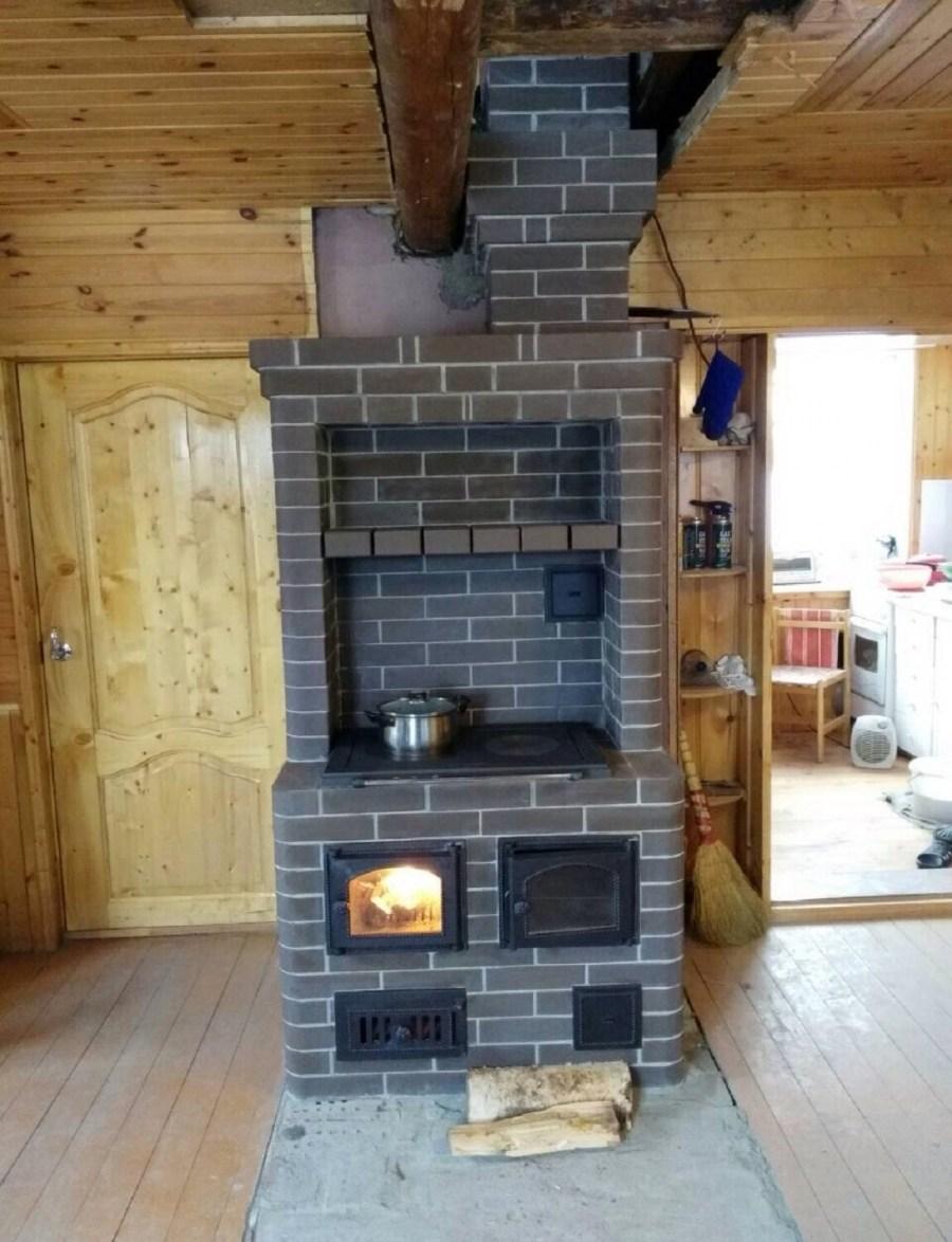 Самая лучшая и экономичная кирпичная печь для дома и бани