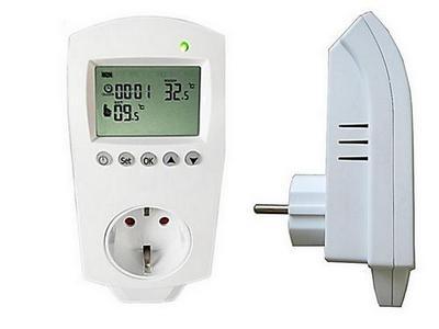 Розетка с терморегулятором для бытовых обогревателей