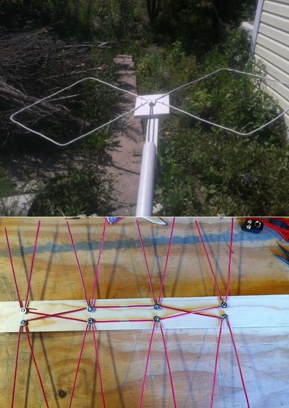 Как сделать антенну - простые и быстрые способы создать антенну (100 фото)