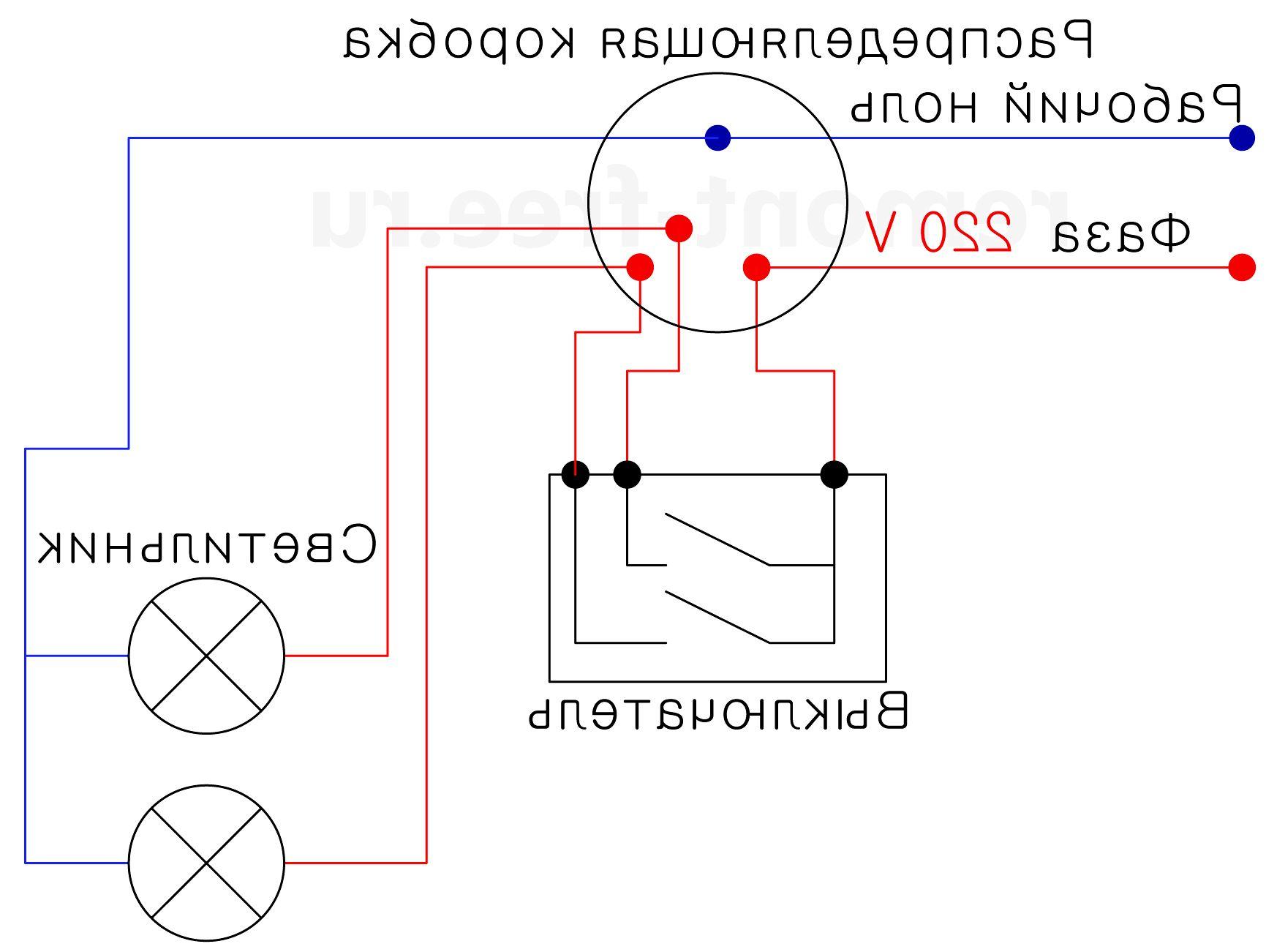 Как подключить выключатель с одной клавишей: схемы подключения и видео